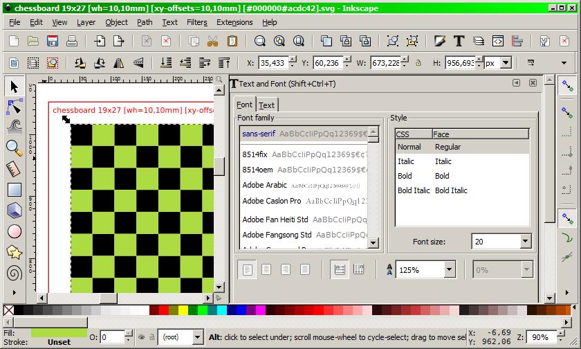 chessboarder